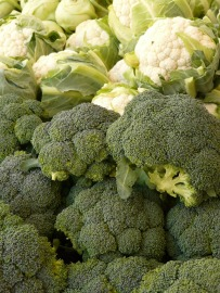 broccoli cauliflower
